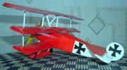 картонная модель самолёта DR 1 Германия